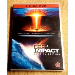 2 x DVD - The Core og Deep Impact Special Edition