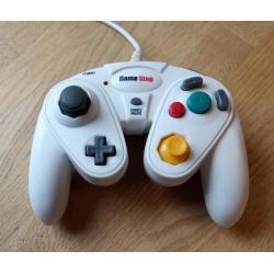 Nintendo GameCube: Hvit GameStop håndkontroll