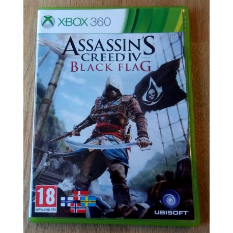 Xbox 360: Assassin's Creed IV - Black Flag (Ubisoft)