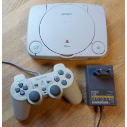 Playstation 1 - PS One: Komplett konsoll