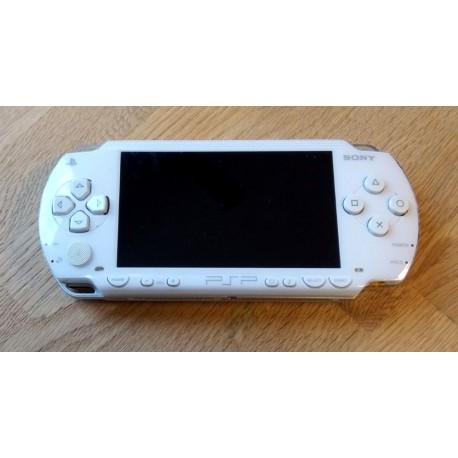 Sony PSP - 1004 - Hvit håndholdt konsoll med 2 GB minnekort