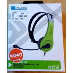 Xbox 360: Chat Headset - Play Gaming Accessories