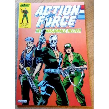 Action Force: 1989 - Nr. 4 - Internasjonale Helter