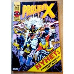 Marveluniverset: 1984 - Nr. 1 - Prosjekt X