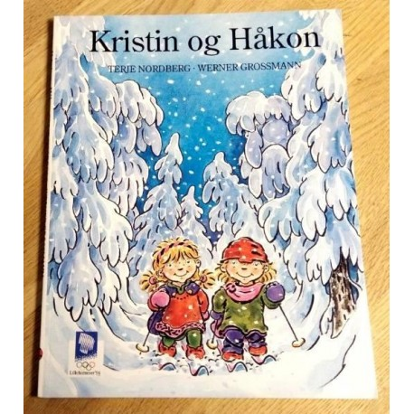 Kristin og Håkon - Tegneseriebok - Lillehammer '94