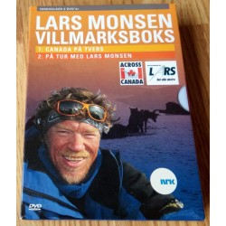 Lars Monsen Villmarksboks - Canada på tvers og På tur med Lars Monsen (DVD)