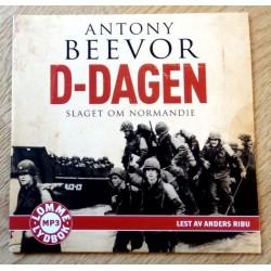 D-Dagen - Slaget om Normandie - Antony Beevor (MP3 lommelydbok)