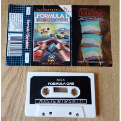Formula 1 Simulator (MSX) (Mastertronic)