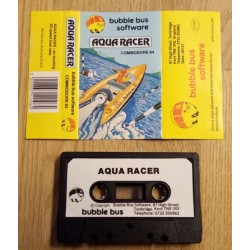 Aqua Racer (Bubble Bus Software) - Commodore 64