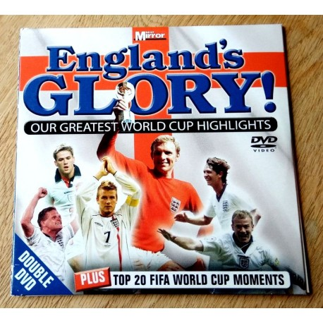 England's Glory! Our Greatest World Cup Highlights (2 x DVD)