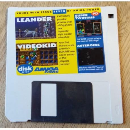 Amiga Power Cover Disk Nr. 7: Super Twintris