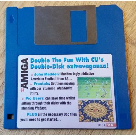 CU Amiga Cover Disk Nr. 26: John Madden