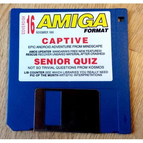 Amiga Format Disk Nr. 16: Captive - Senior Quiz