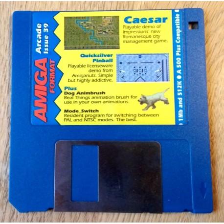 Amiga Format Disk Nr. 39: Caesar - Quicksilver Pinball
