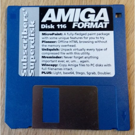 Amiga Format Subscribers Disk: Nr. 116