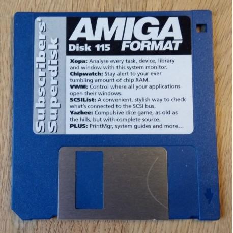 Amiga Format Subscribers Disk: Nr. 115