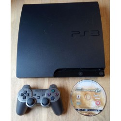 Playstation 3 Slim - 160 GB - Komplett konsoll med spill