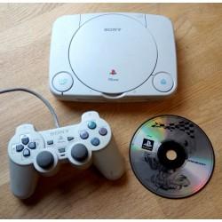 Playstation 1 - PS One: Komplett konsoll med Chocobo Racing