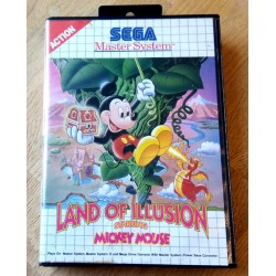 SEGA Master System: Land of Illusion Starring Mickey Mouse
