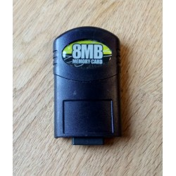 8 MB Memory Card til Xbox - Action Replay