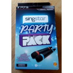 Playstation 3: Singstar Party Pack - 2 x mikrofoner (London Studio)