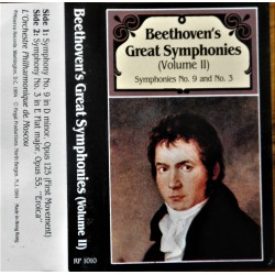 Beethoven's Great Symphonies- Volum III
