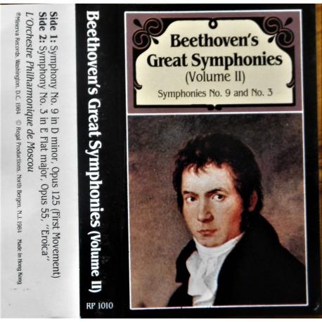 Beethoven's Great Symphonies- Volum III