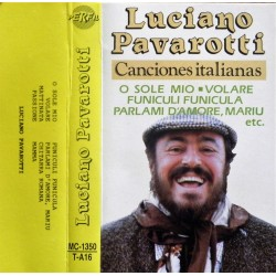 Luciano Pavarotti- Canciones italianas