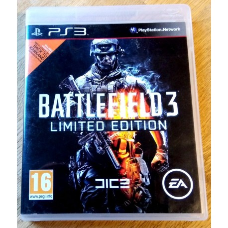 Playstation 3: Battlefield 3 - Limited Edition (Dice / EA Games)