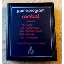Atari 2600: Combat - CX 2601-P