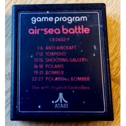 Atari 2600: Air-Sea Battle - Game Program - CX-2602-P