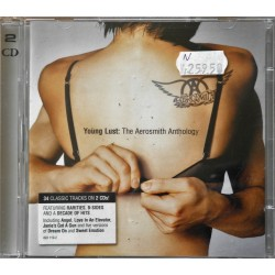 2 X CD- Young Lust: The Aerosmith Anthology