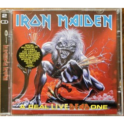2 X CD- Iron Maiden- A Real Live Dead One