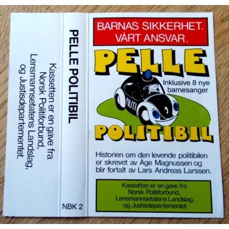 Pelle Politibil - Historien om den levende politibilen (kassett)