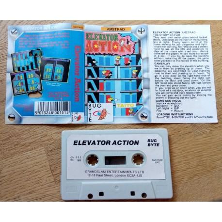 Elevator Action (Bug Byte) - Amstrad
