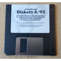 Amiga Forum - Diskett 4 / 1993