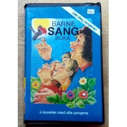 Barnesangboka - 4 kassetter med alle sangene (kassett)