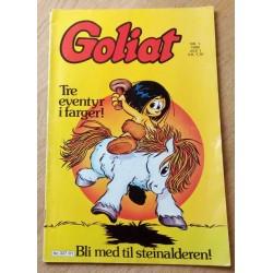Goliat - 1986 - Nr. 1 - Bli med til steinalderen!