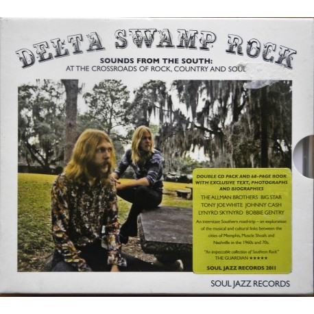 Delta Swamp Rock (CD- med bok)