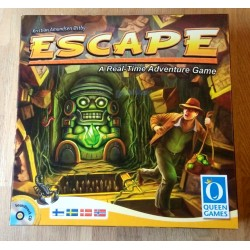 Escape - A Real-Time Adventure Game - Komplett i eske
