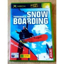 Xbox: Transworld Snowboarding (Atari)