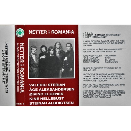 Netter i Romania- Åge Aleksandersen m.fl
