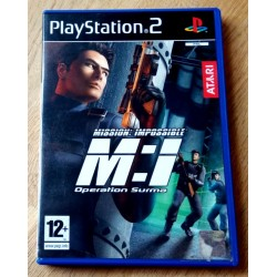 Mission: Impossible - M:I - Operation Suma - Playstation 2