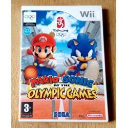 Nintendo Wii: Mario & Sonic at The Olympic Games (SEGA)