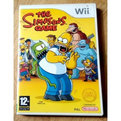 Nintendo Wii: The Simpsons Game (EA Games)
