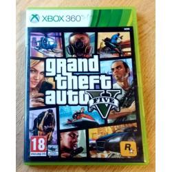 Xbox 360: Grand Theft auto V (Rockstar Games)