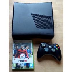 Xbox 360 Slim med 250 GB HD - Komplett konsoll med spill