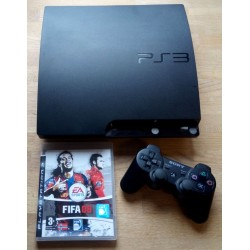 Playstation 3 Slim med 120 GB HD - Komplett konsoll med spill