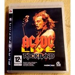 Playstation 3: AC/DC Live - Rockband (Harmonix)
