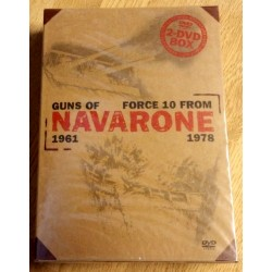 Guns of Navarone og Force 10 from Navarone (DVD)